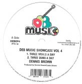 Dennis Brown Three Meals A Day / Cup Of Tea (DEB Music) 12""